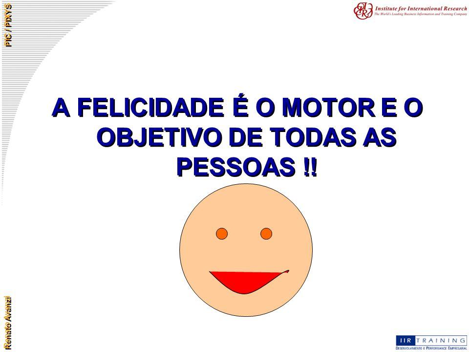 A FELICIDADE É O MOTOR E O OBJETIVO DE TODAS AS PESSOAS !!