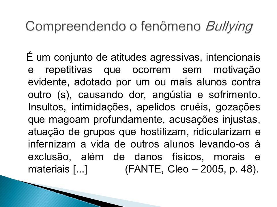 Compreendendo o fenômeno Bullying