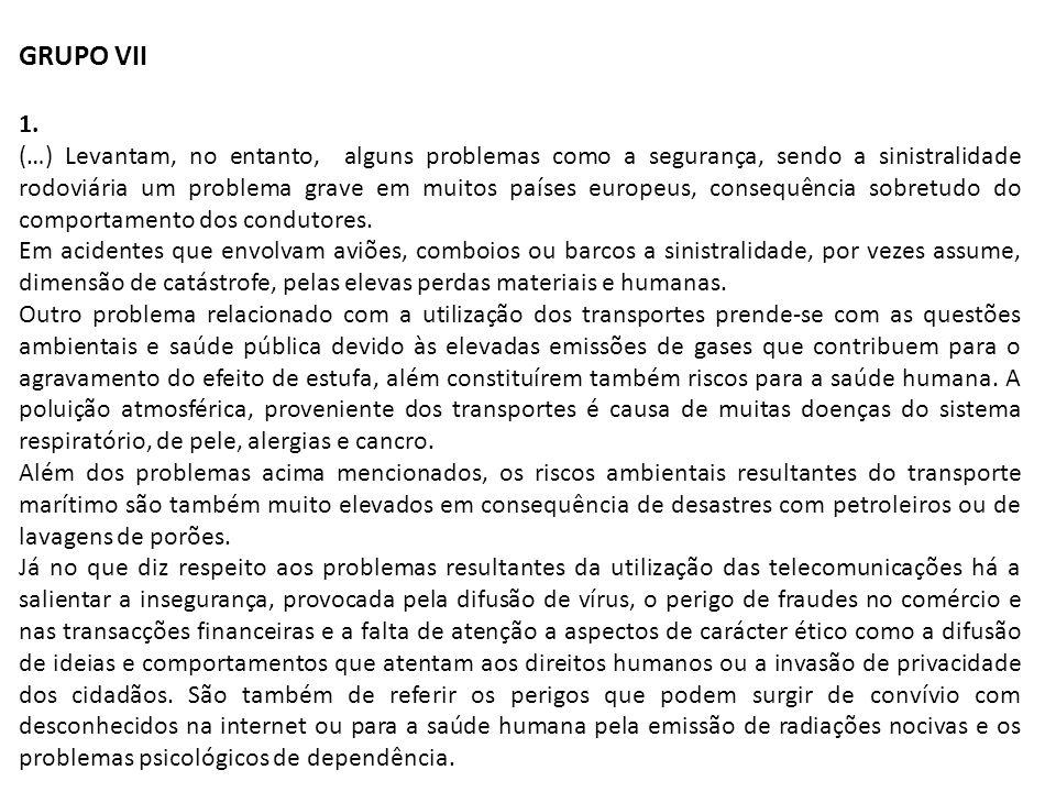 GRUPO VII 1.