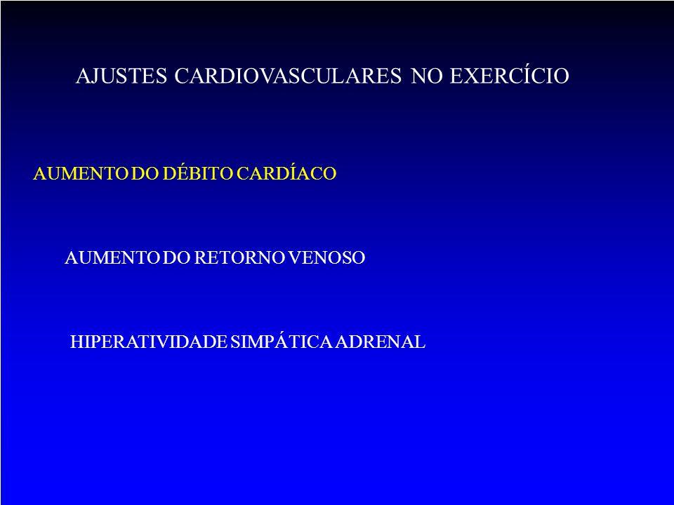 AJUSTES CARDIOVASCULARES NO EXERCÍCIO