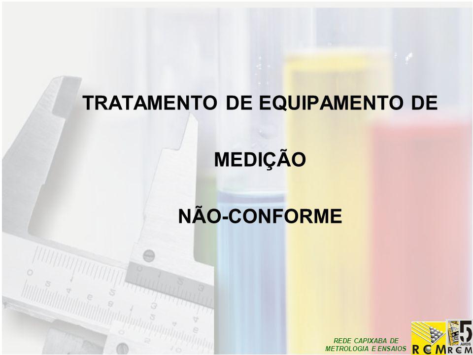TRATAMENTO DE EQUIPAMENTO DE