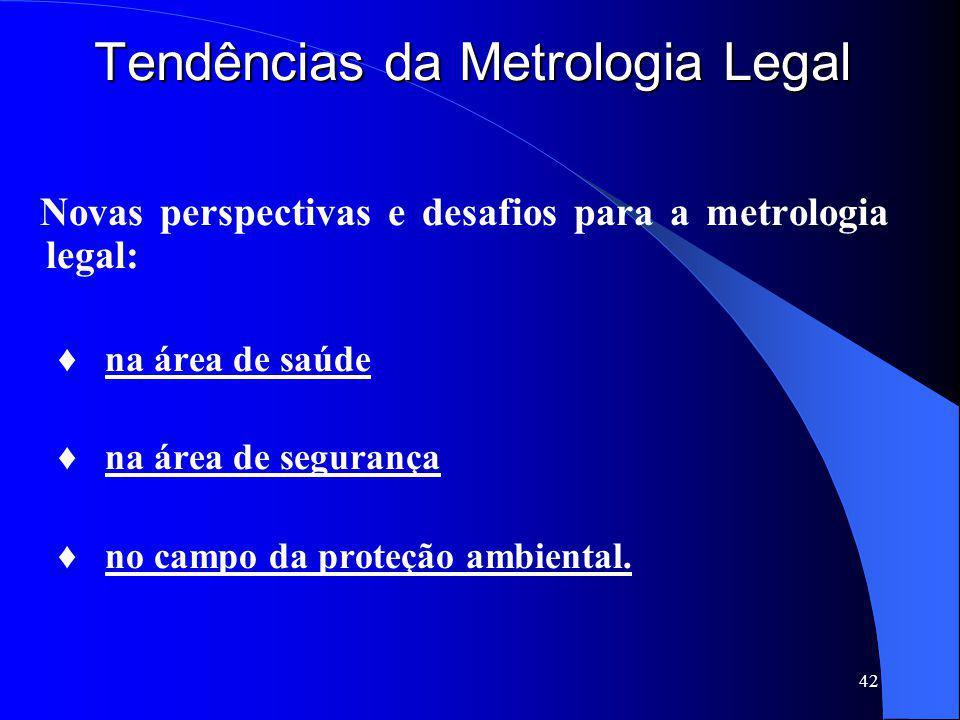 Tendências da Metrologia Legal