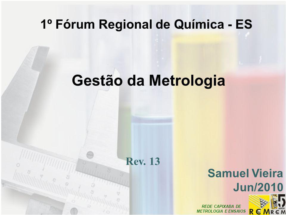 1º Fórum Regional de Química - ES