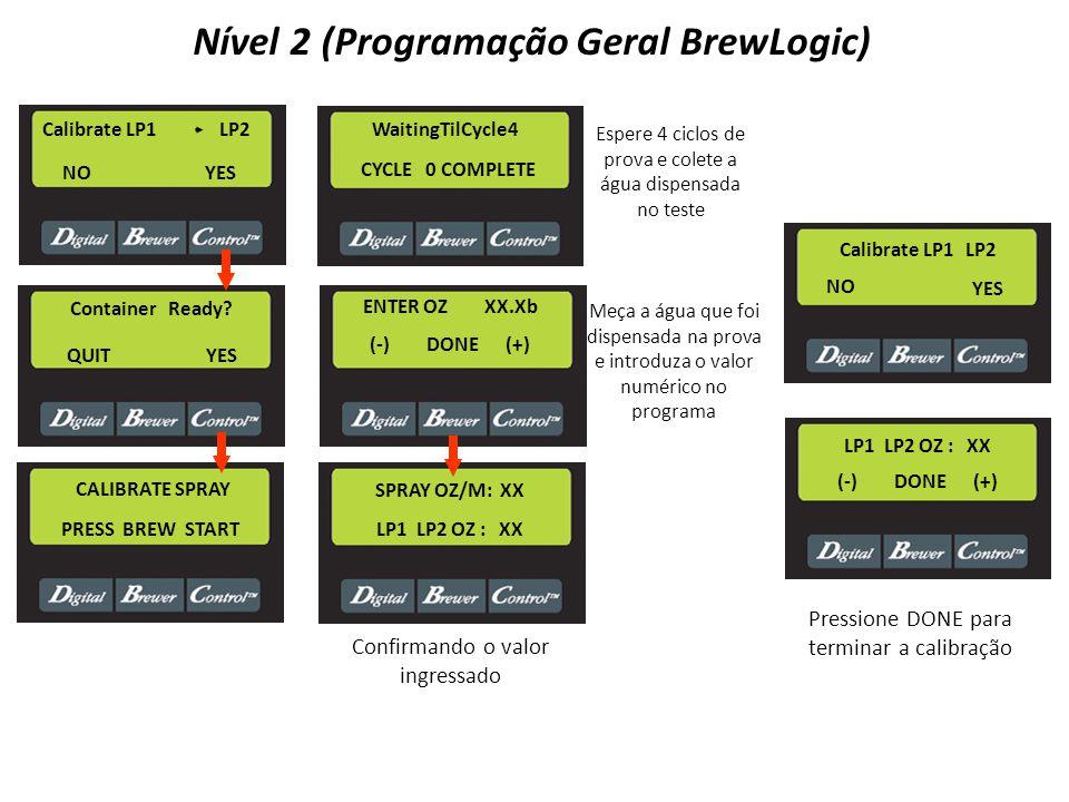 Nível 2 (Programação Geral BrewLogic)