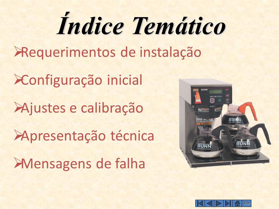 Índice Temático Requerimentos de instalação Configuração inicial