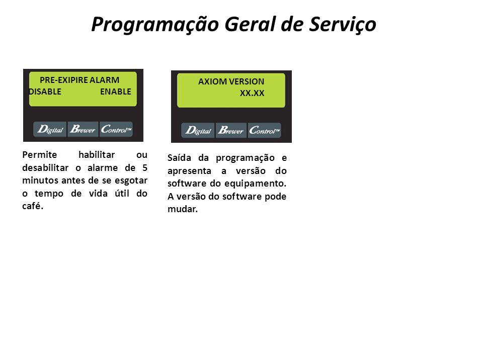 Programação Geral de Serviço