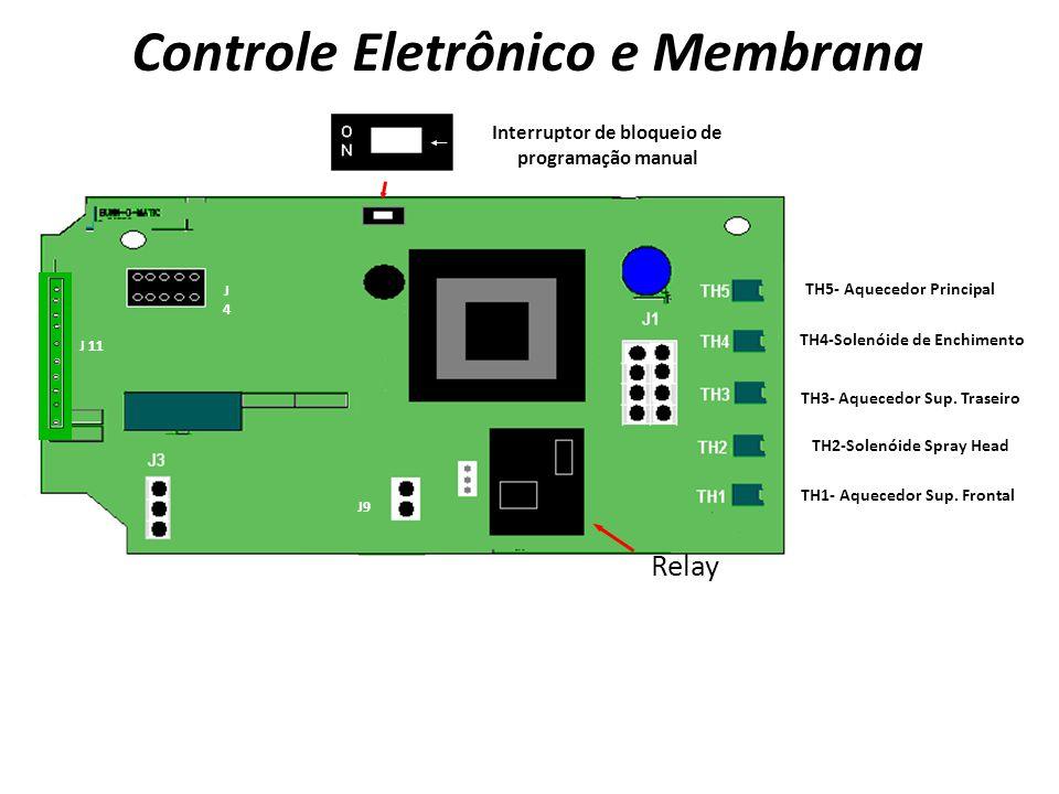 Controle Eletrônico e Membrana
