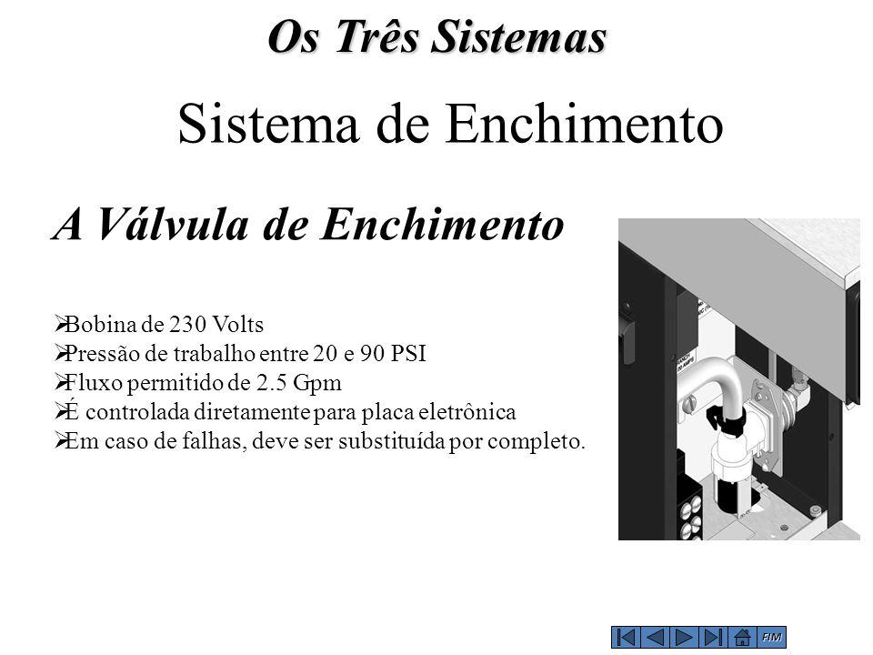 Sistema de Enchimento Os Três Sistemas A Válvula de Enchimento