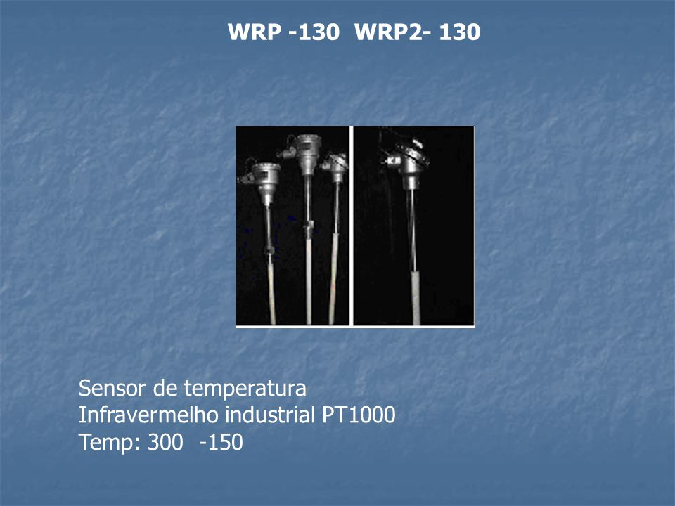 WRP -130 WRP2- 130 Sensor de temperatura Infravermelho industrial PT1000 Temp: 300 -150