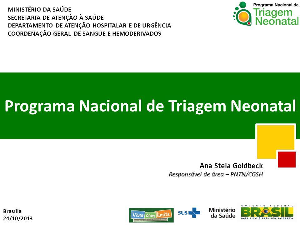 Programa Nacional de Triagem Neonatal