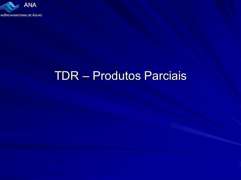 TDR – Produtos Parciais