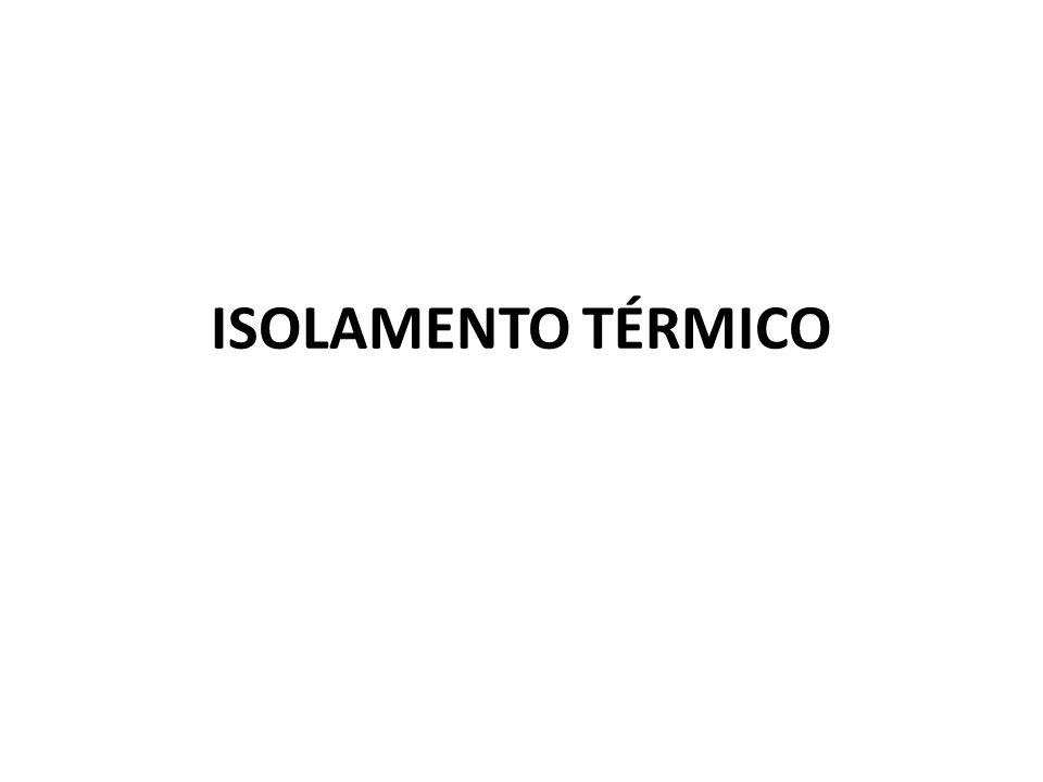 ISOLAMENTO TÉRMICO