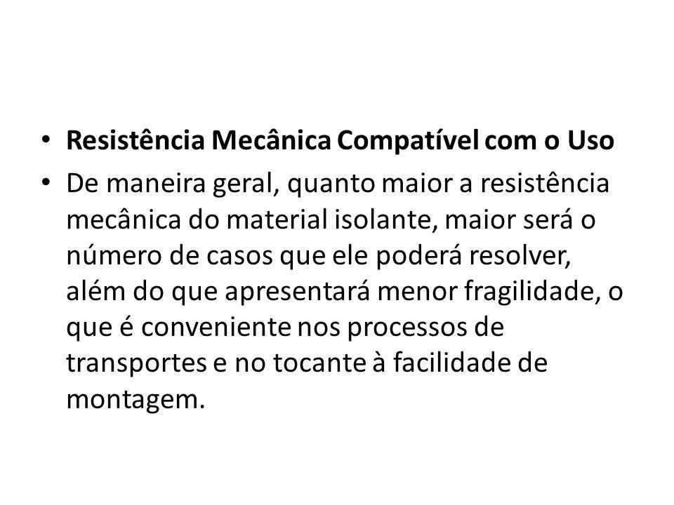 Resistência Mecânica Compatível com o Uso