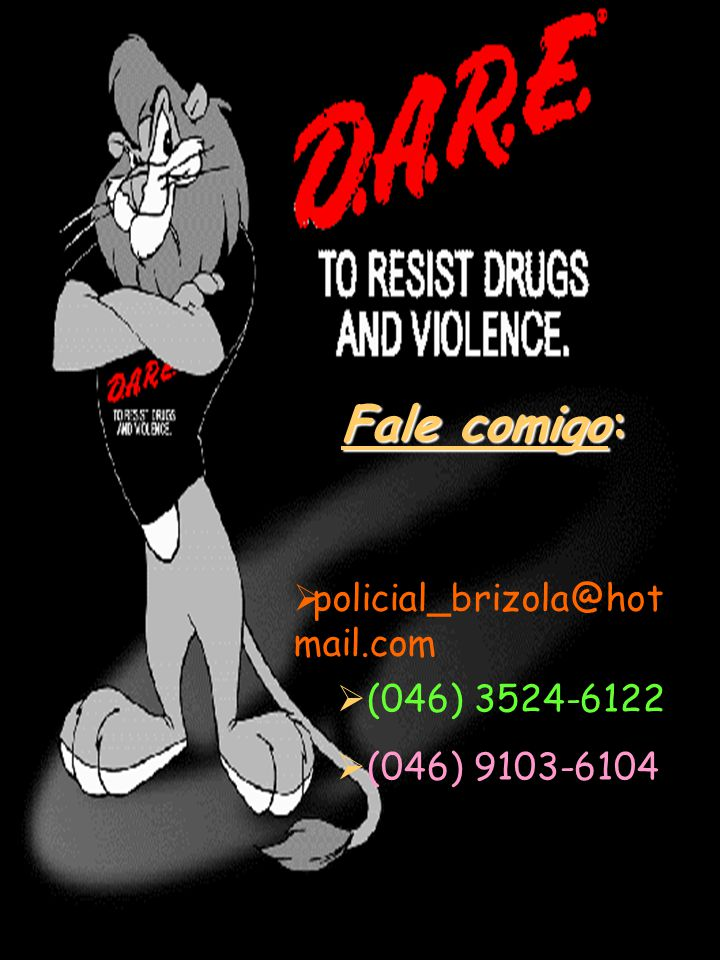Fale comigo: policial_brizola@hotmail.com (046) 3524-6122