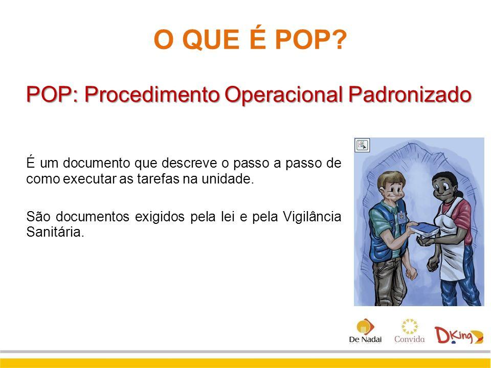 POP: Procedimento Operacional Padronizado