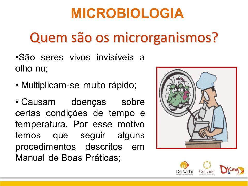 Quem são os microrganismos