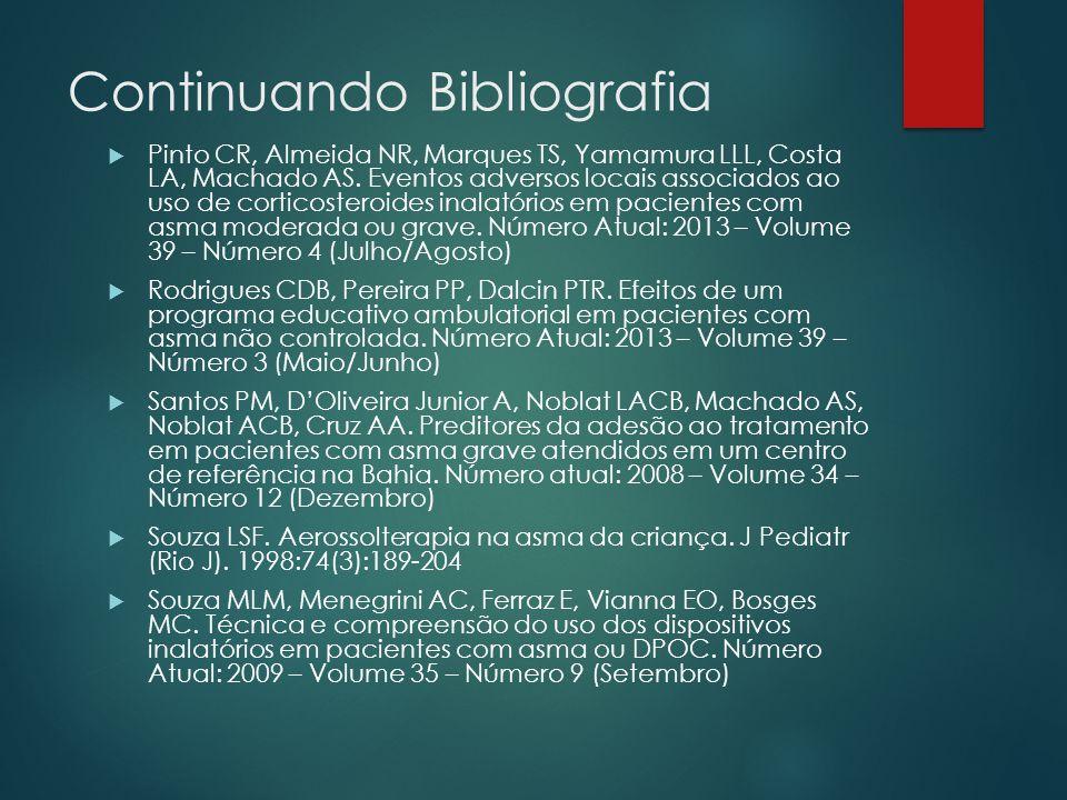 Continuando Bibliografia