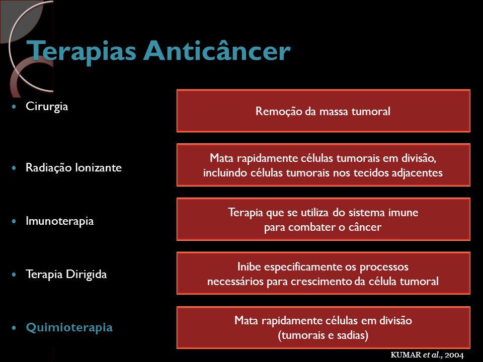Terapias Anticâncer Cirurgia Radiação Ionizante Imunoterapia