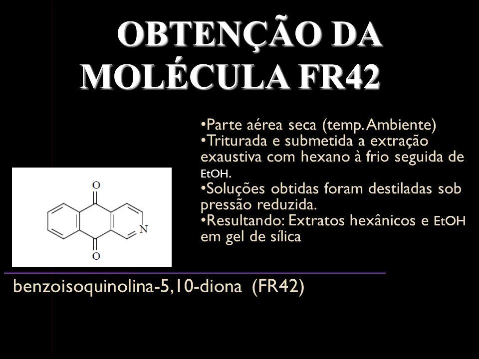 OBTENÇÃO DA MOLÉCULA FR42