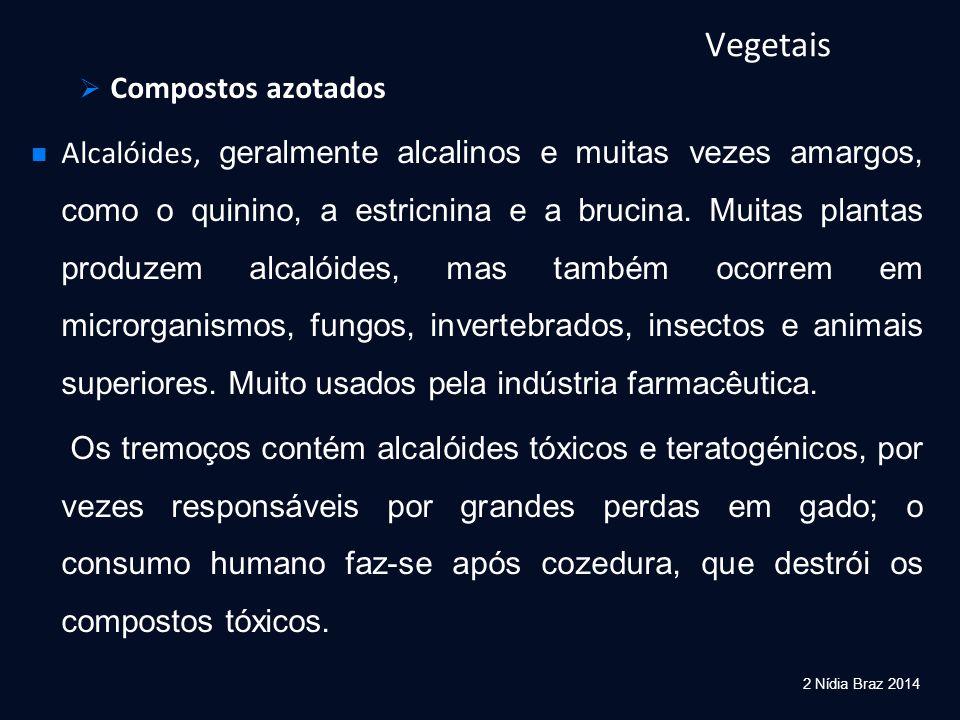 Vegetais Compostos azotados