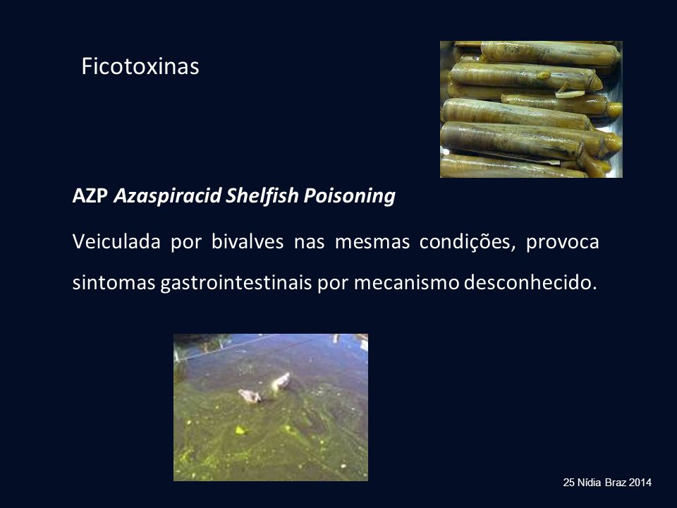 Ficotoxinas AZP Azaspiracid Shelfish Poisoning