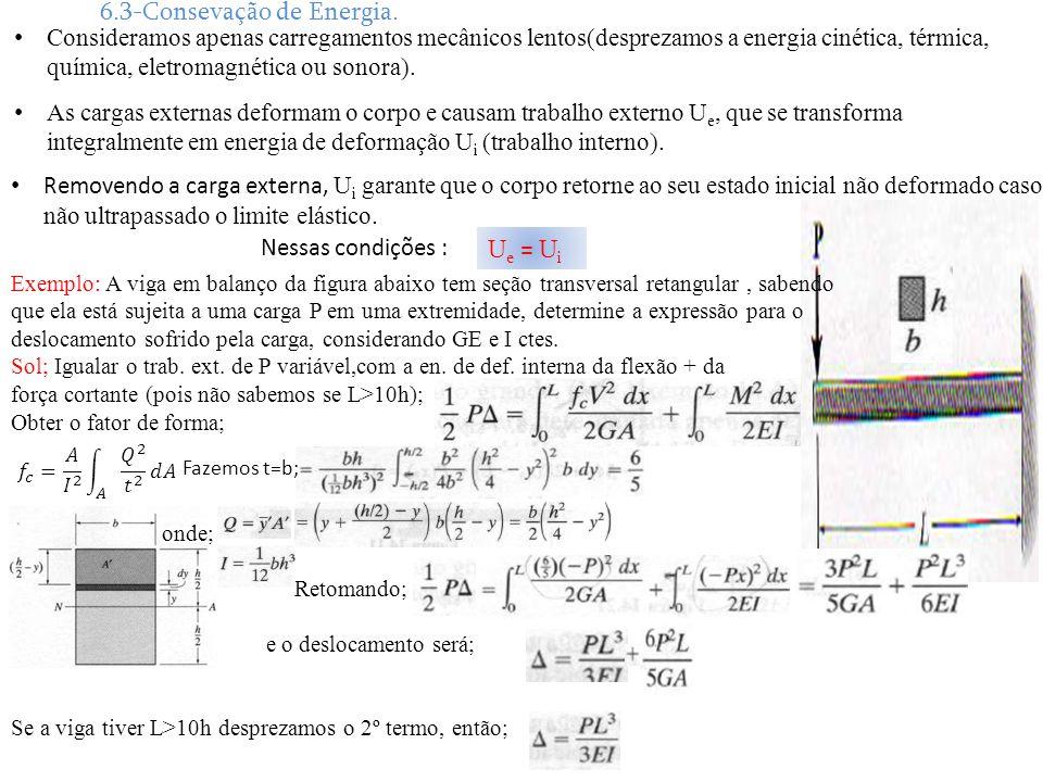 6.3-Consevação de Energia.