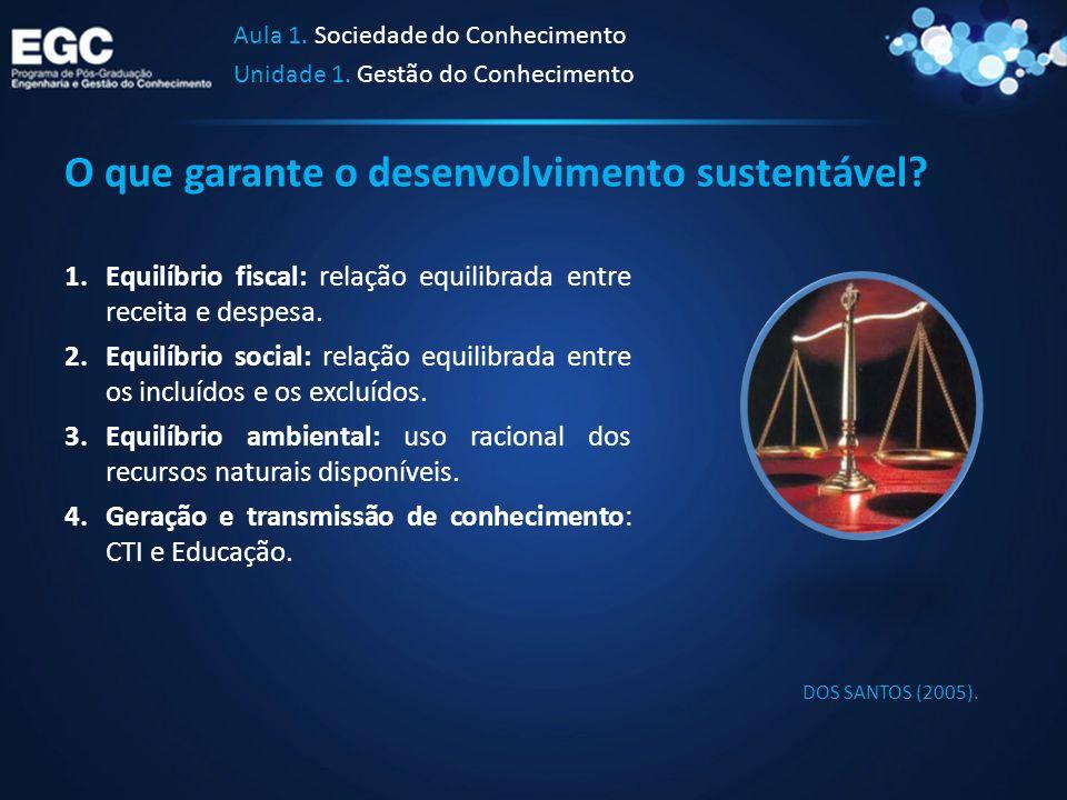 O que garante o desenvolvimento sustentável