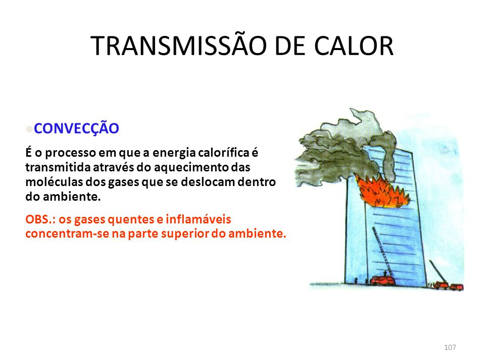TRANSMISSÃO DE CALOR CONVECÇÃO