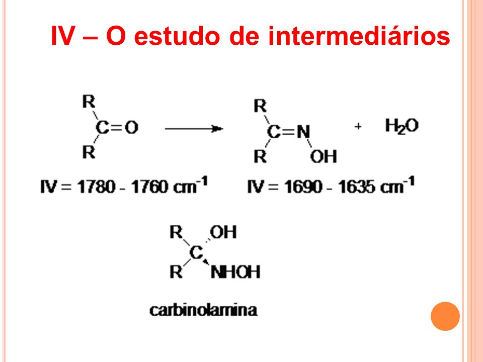 IV – O estudo de intermediários