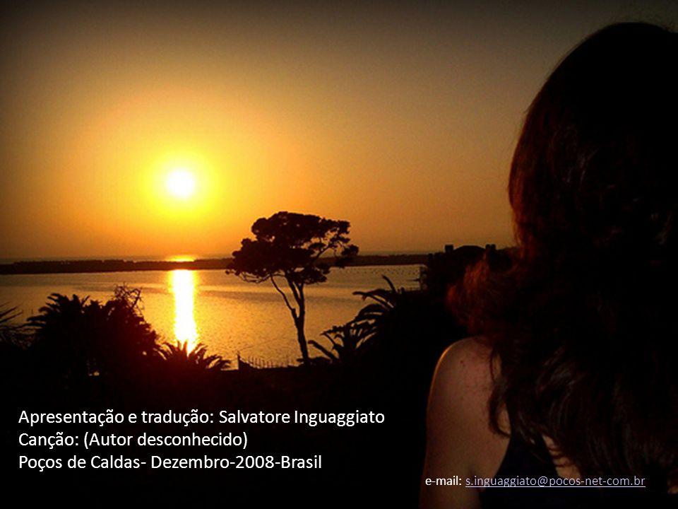 Apresentação e tradução: Salvatore Inguaggiato