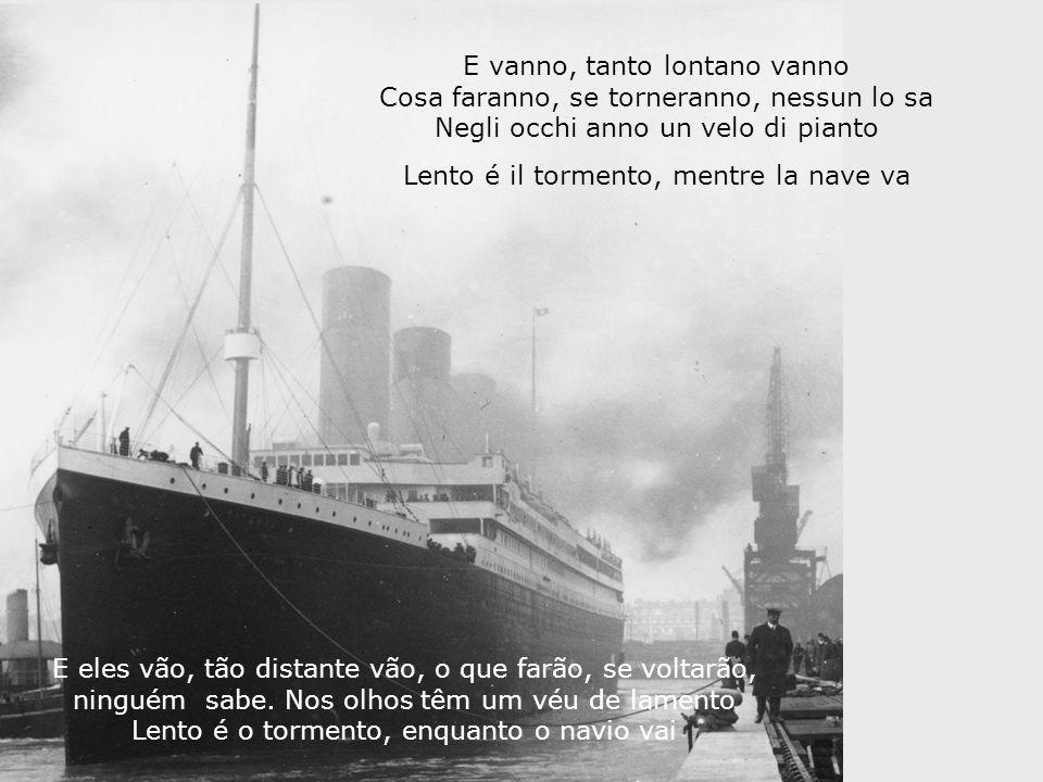 Lento é il tormento, mentre la nave va