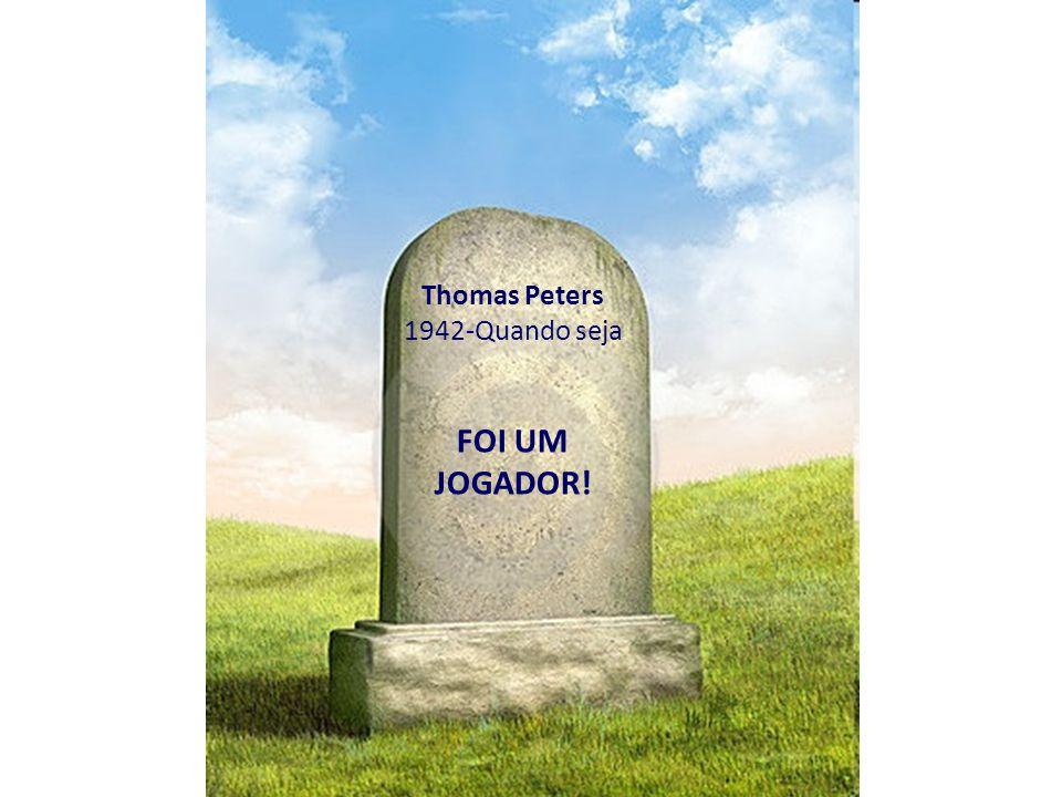 Thomas Peters 1942-Quando seja FOI UM JOGADOR!