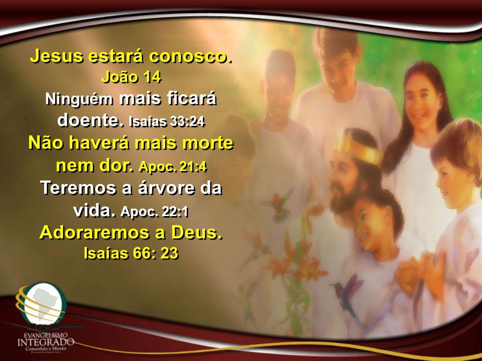 Jesus estará conosco. João 14