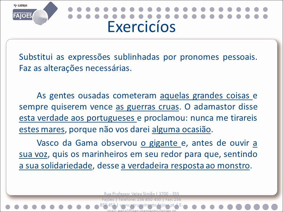 Exercicíos