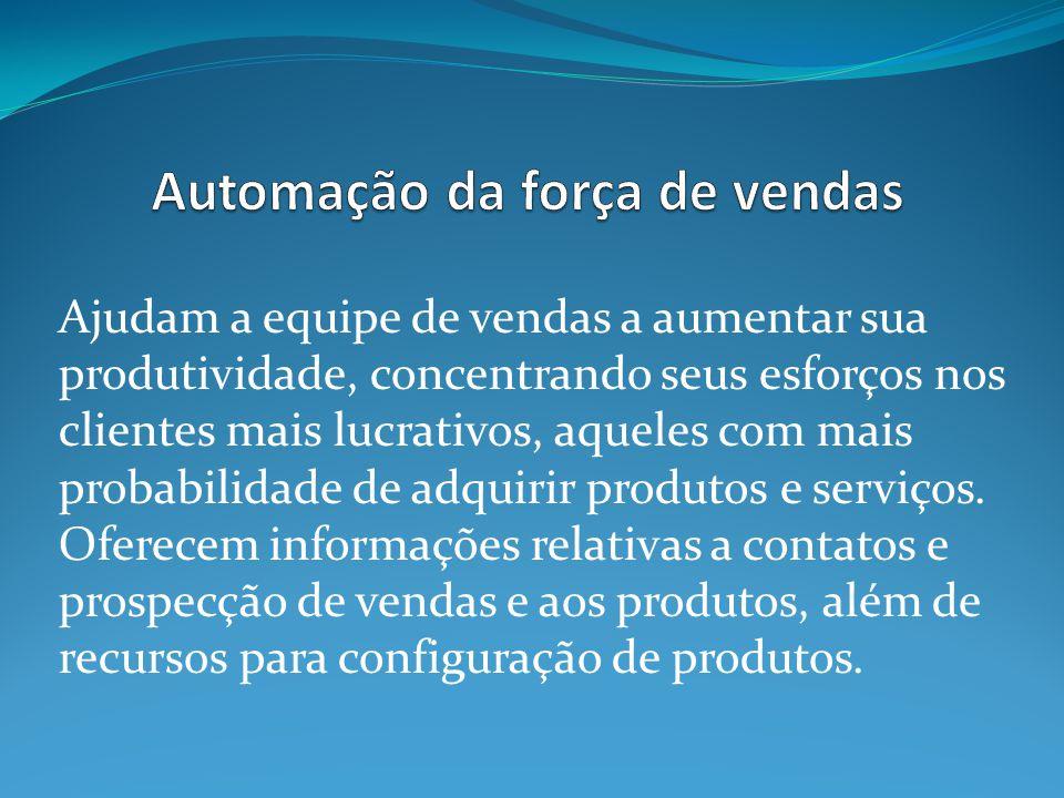 Automação da força de vendas