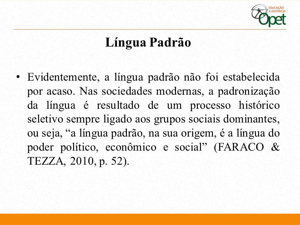 Língua Padrão