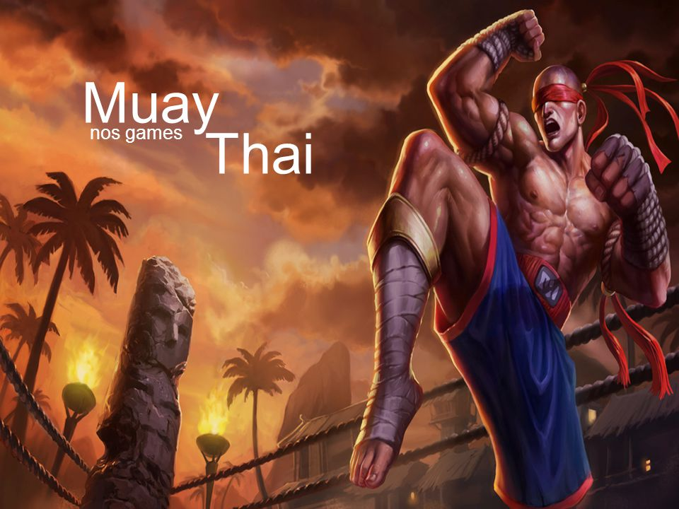 Muay nos games Thai