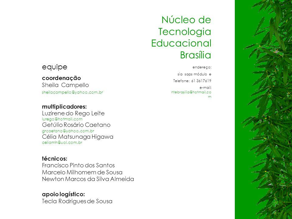 Núcleo de Tecnologia Educacional Brasília