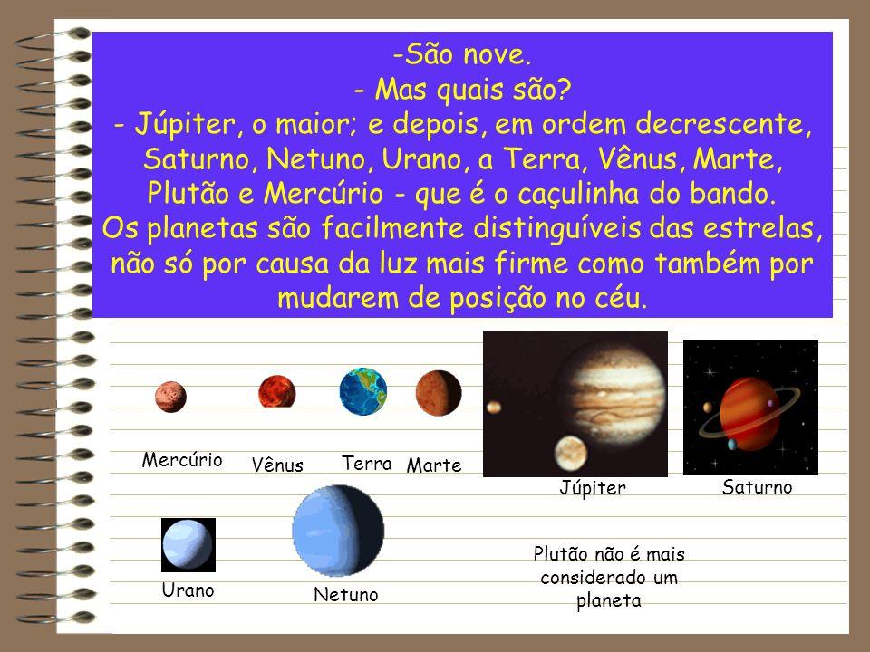 Plutão não é mais considerado um planeta