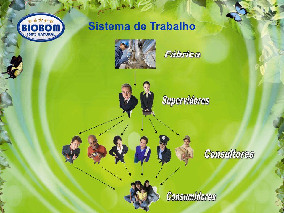 Fábrica Supervidores Consultores Consumidores Sistema de Trabalho