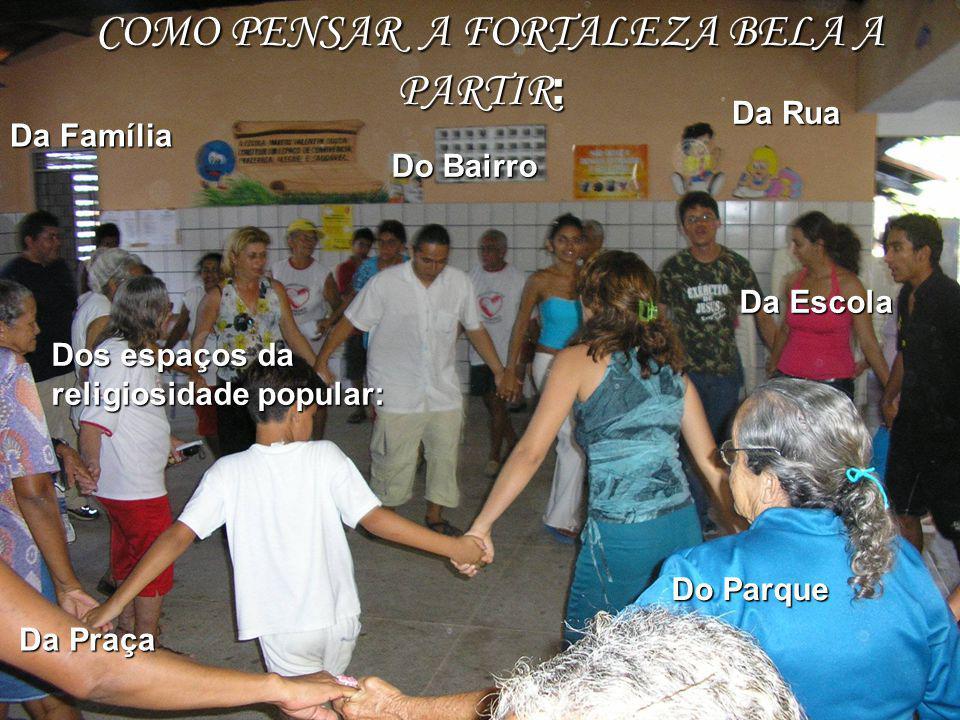 COMO PENSAR A FORTALEZA BELA A PARTIR: