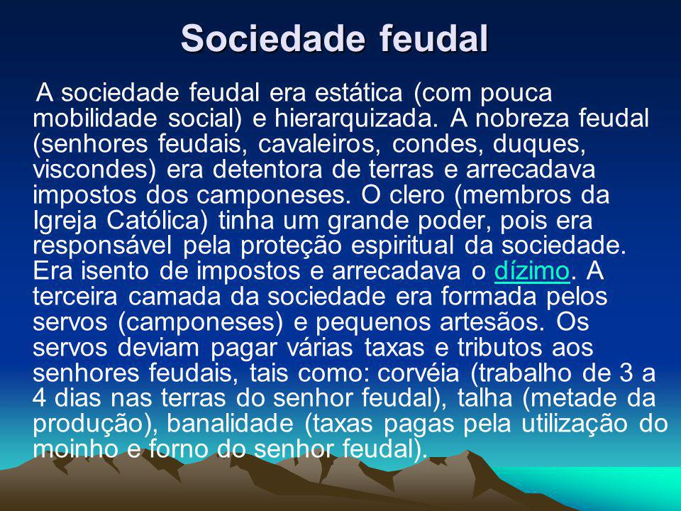 Sociedade feudal