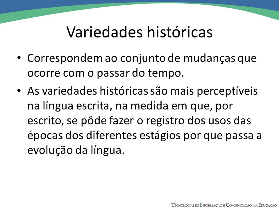 Variedades históricas