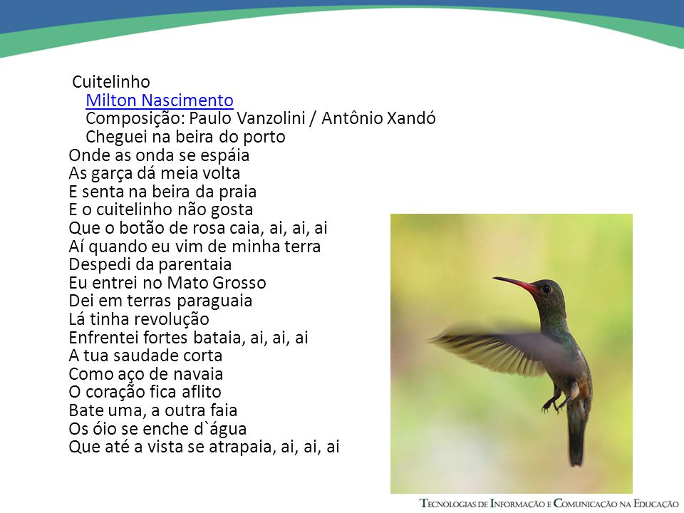 Composição: Paulo Vanzolini / Antônio Xandó