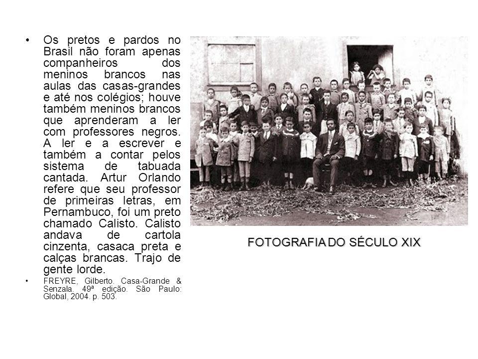 FOTOGRAFIA DO SÉCULO XIX