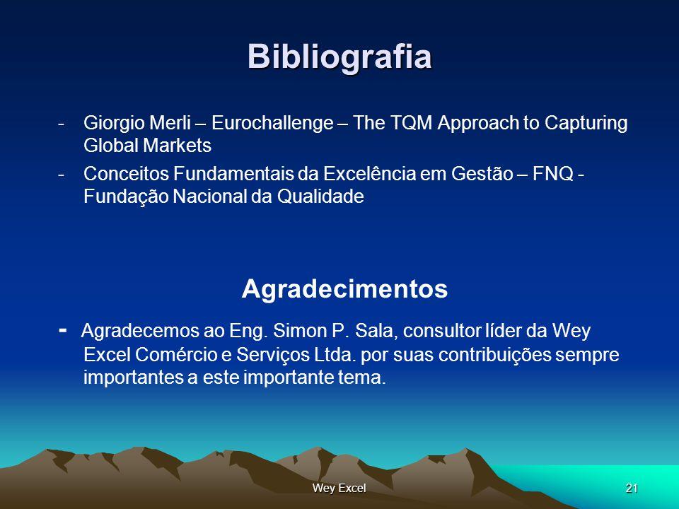 Bibliografia Agradecimentos