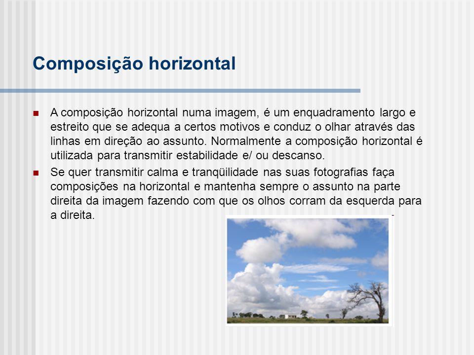 Composição horizontal