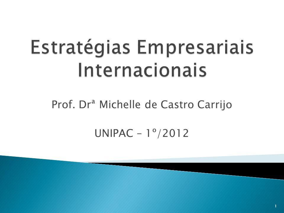 Estratégias Empresariais Internacionais