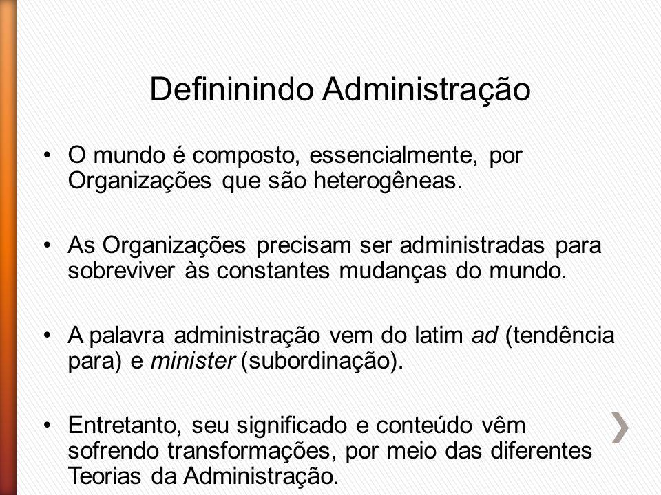 Defininindo Administração