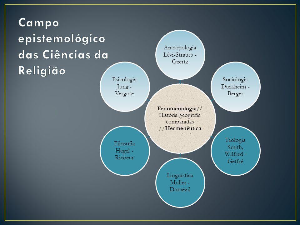 Campo epistemológico das Ciências da Religião